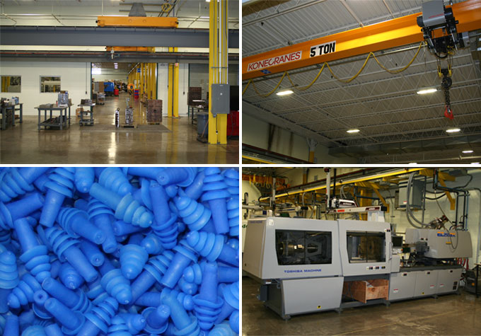 Plastics Manufacturing: Custom Plastic Injection Molding Company New